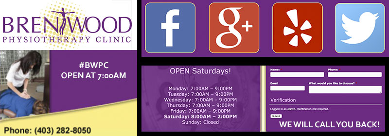 clinic hours brentwood physio brentwood physiotherapy clinic social media open saturdays