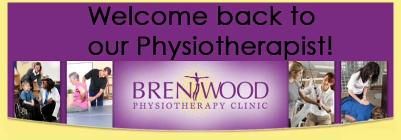 Brentwood physio welcome back our physiotherapist clinic