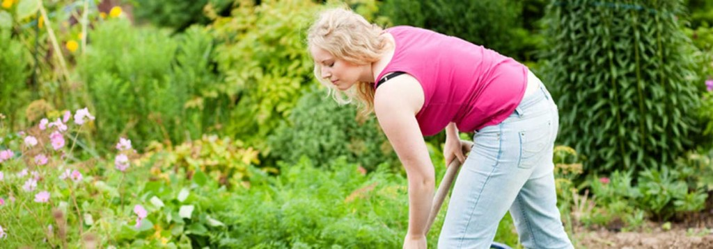 gardening tips back pain
