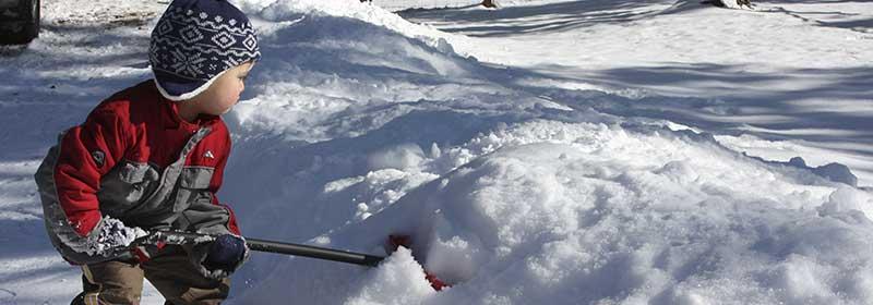 shovelling snow back pain winters Winter prevention