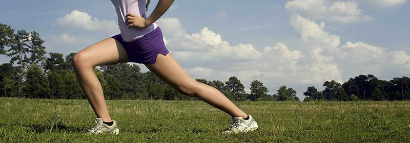 running exercise shoes grass stretch stretching day legs calf
