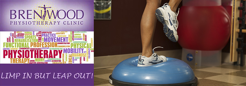 Brentwood Physio injury bosu ball exercise